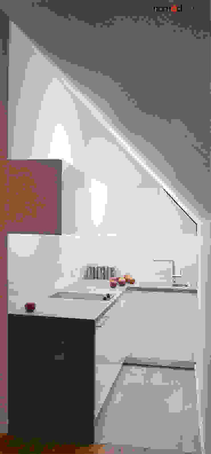 Dapur Minimalis Oleh nomad studio Minimalis