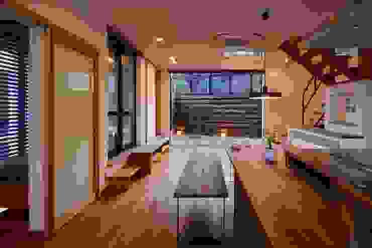 祐建築設計事務所 ห้องนั่งเล่น