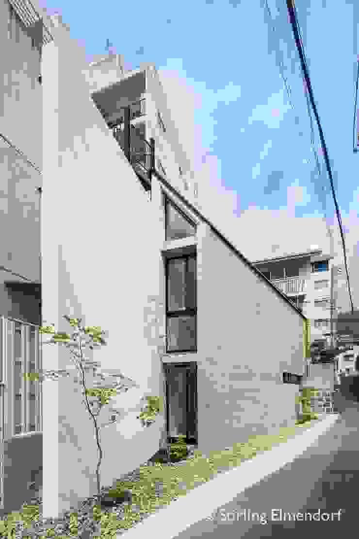 外観1 ミニマルな 家 の fujihara architects ミニマル