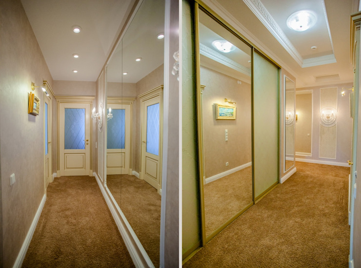 Classic style corridor, hallway and stairs by Center of interior design Classic