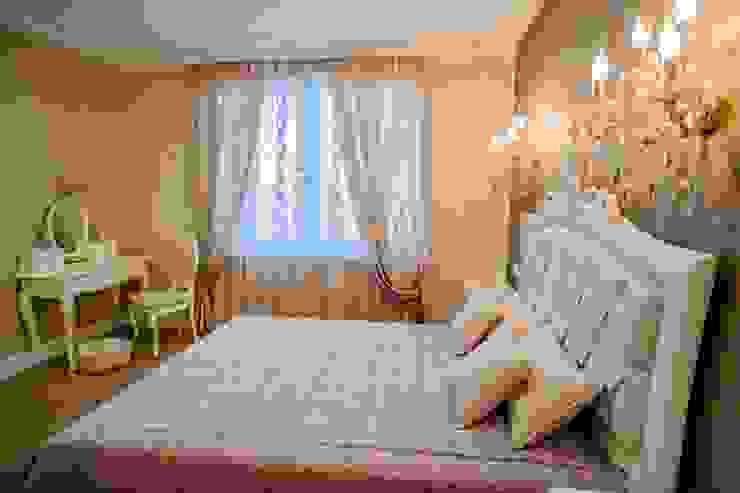 Демо-квартира Спальня в классическом стиле от Center of interior design Классический