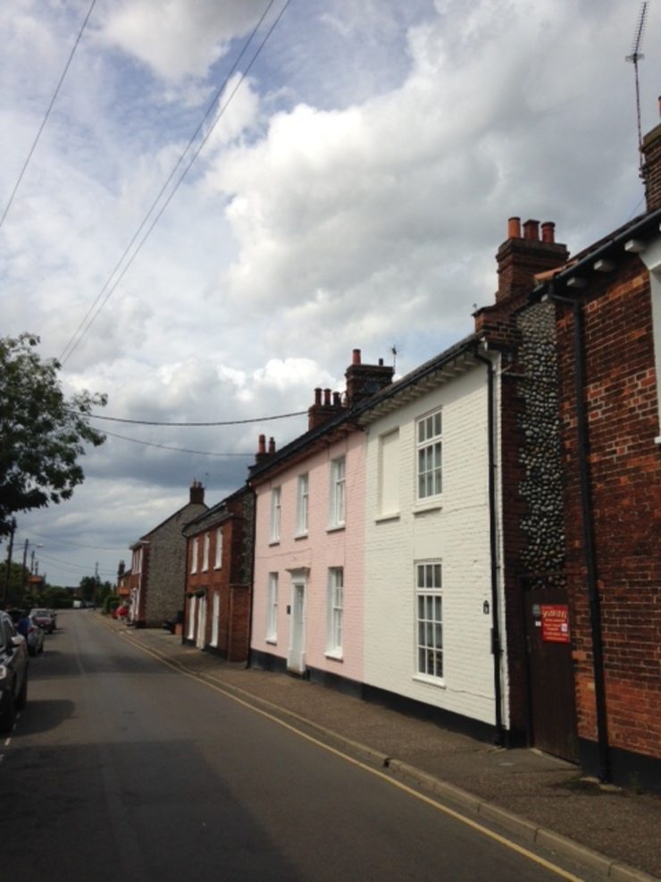 New Street, Holt, North Norfolk Country style houses by Green Street Property Development Limited Country