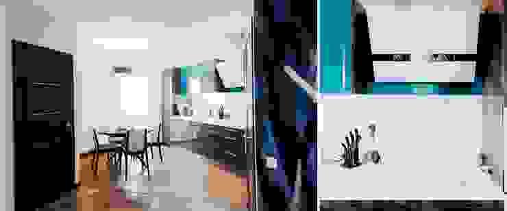 Квартира для молодого человека Кухня в стиле модерн от Center of interior design Модерн