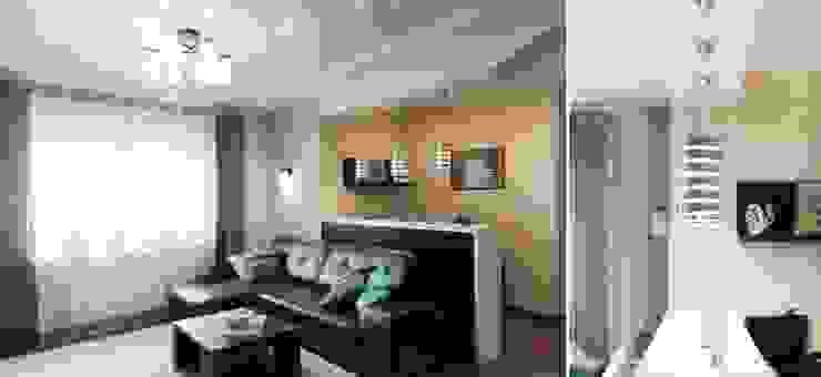 Квартира для молодого человека Гостиная в стиле модерн от Center of interior design Модерн