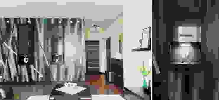 Квартира для молодого человека Коридор, прихожая и лестница в модерн стиле от Center of interior design Модерн