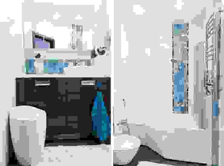 Квартира для молодого человека Ванная комната в стиле модерн от Center of interior design Модерн
