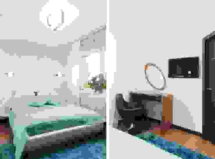 Квартира для молодого человека Спальня в стиле модерн от Center of interior design Модерн