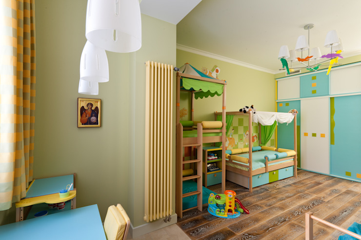 Квартира на набережной. Детская комната в стиле модерн от А-Дизайн Модерн