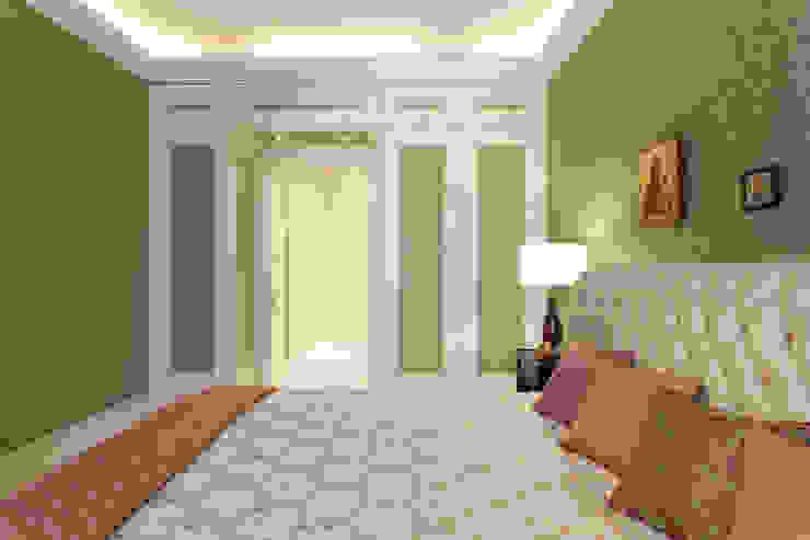 Квартира на набережной. Спальня в классическом стиле от А-Дизайн Классический