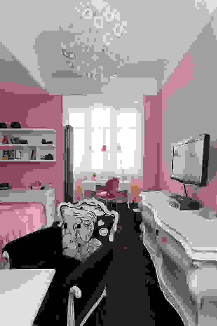Квартира на набережной. Детские комната в эклектичном стиле от А-Дизайн Эклектичный