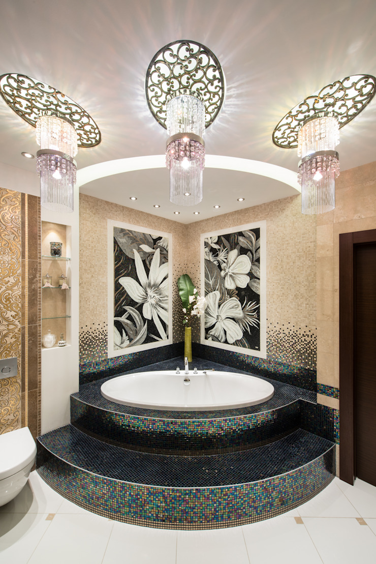 Квартира Ванная в классическом стиле от Кирилл Губаревич Классический
