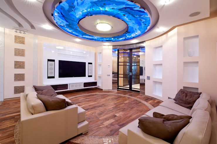 Квартира Гостиная в классическом стиле от Кирилл Губаревич Классический