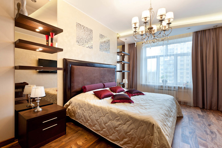 Квартира Спальня в классическом стиле от Кирилл Губаревич Классический