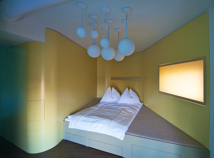 Eclectic style bedroom by 3rdskin architecture gmbh Eclectic