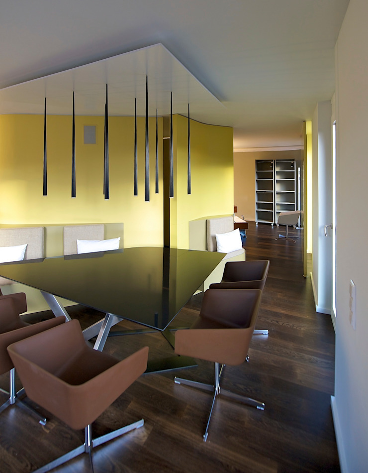3rdskin architecture gmbh Eclectic style dining room