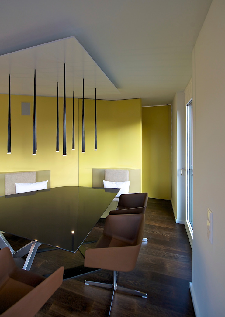 Eclectic style dining room by 3rdskin architecture gmbh Eclectic