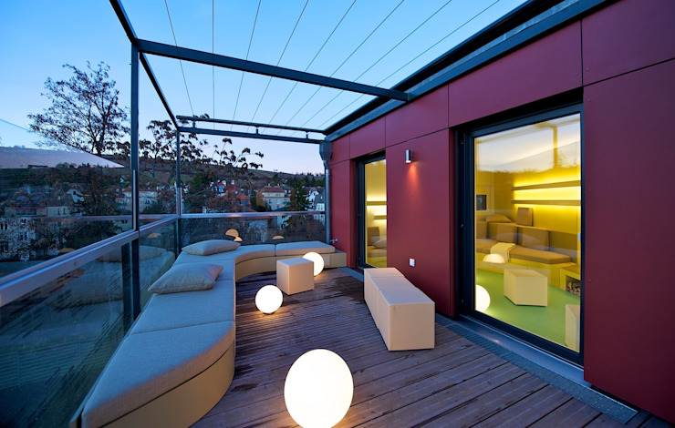 3rdskin architecture gmbh Patios & Decks