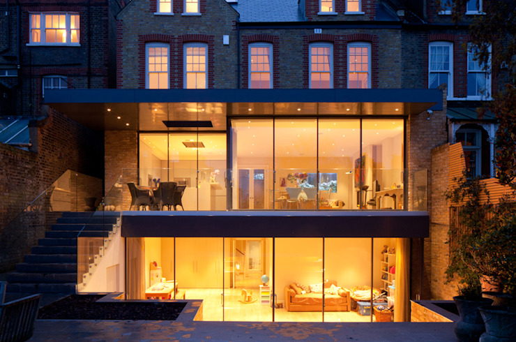 Bolingbroke Grove Modern windows & doors by Quartet Architecture Modern