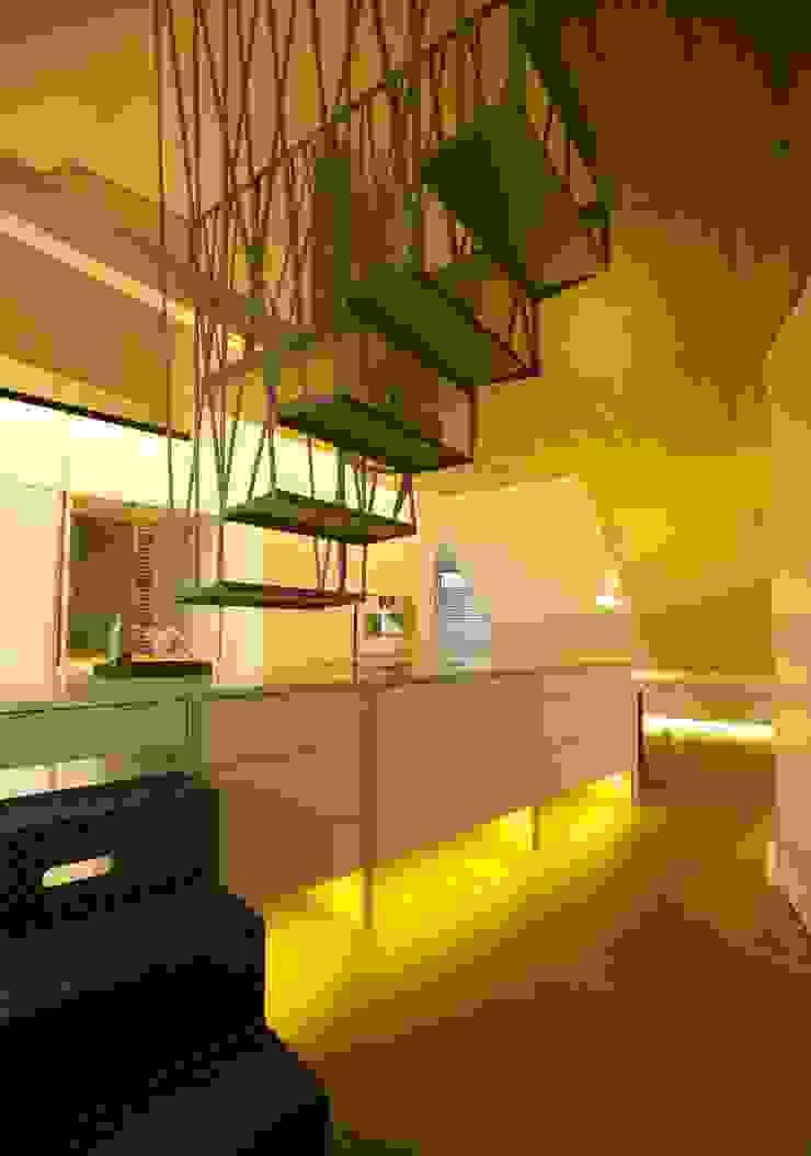 3rdskin architecture gmbh Cocinas de estilo ecléctico