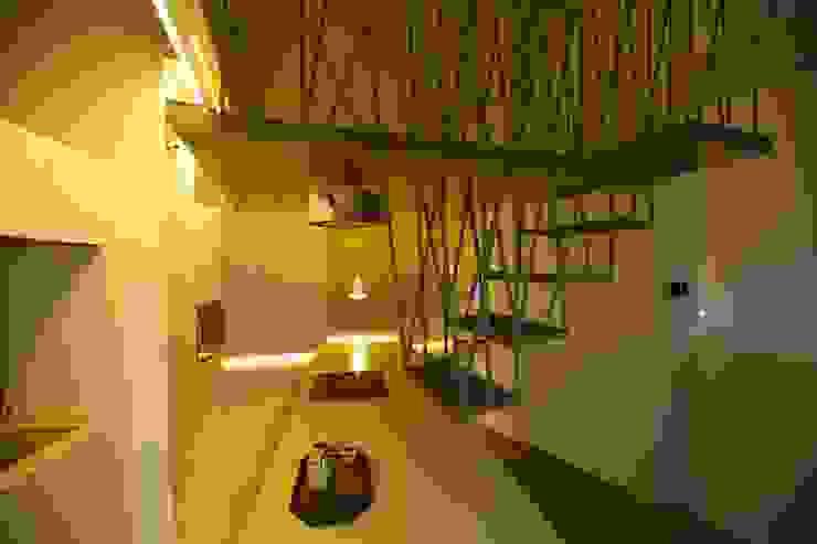 3rdskin architecture gmbh Couloir, entrée, escaliersEscaliers