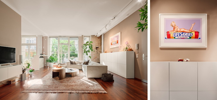 Modern living room by BERLINRODEO interior concepts GmbH Modern