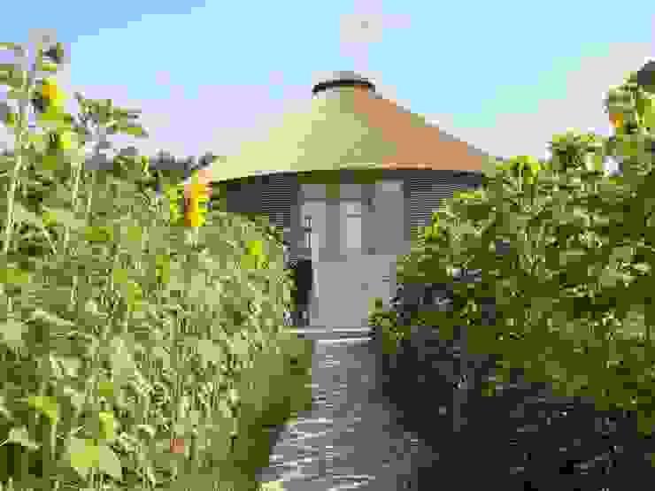 юрта в подмосковье Дома в тропическом стиле от Архитектурное бюро и дизайн студия 'Линия 8' Тропический