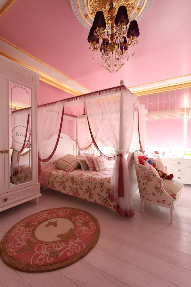 Contemporary Classical Villa in Kemer Golf & Country Classic style nursery/kids room by Orkun İndere Interiors Classic