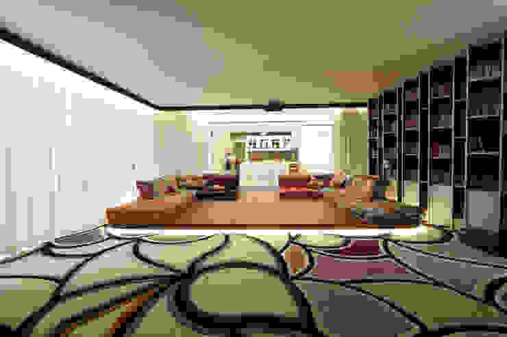 Media room by Orkun İndere Interiors, Modern