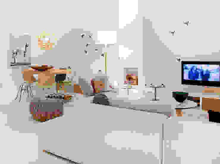 Wallpaper Sparrow:  Woonkamer door Snijder&CO,