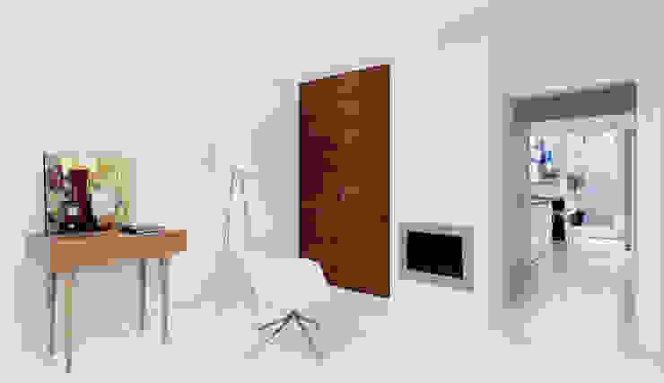 IL GUARDAROBA ED IL FOCOLARE Ingresso, Corridoio & Scale in stile minimalista di STUDIO DI ARCHITETTURA LUISELLA PREMOLI Minimalista