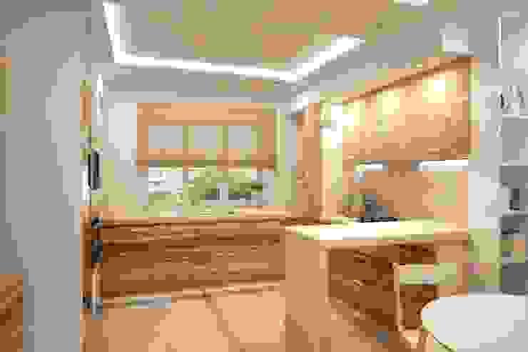 Простота и функциональность современного жилья Кухня в стиле минимализм от STONE design Минимализм