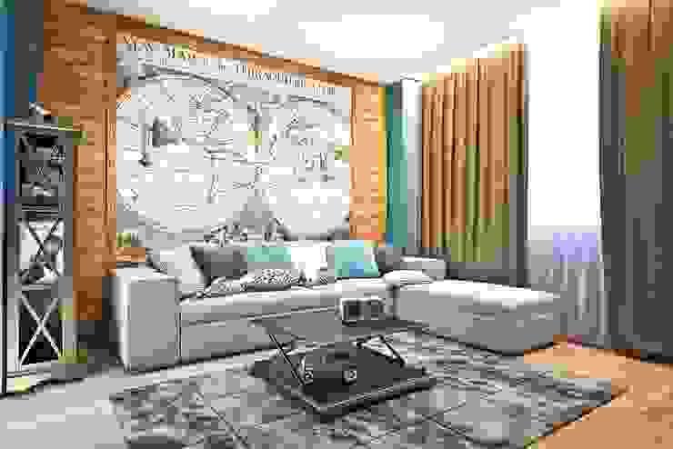 Яркие акценты современных квартир Детская комнатa в средиземноморском стиле от STONE design Средиземноморский