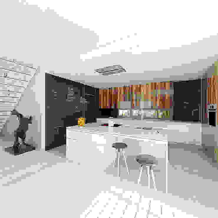 Кухня в стиле модерн от doomo Модерн