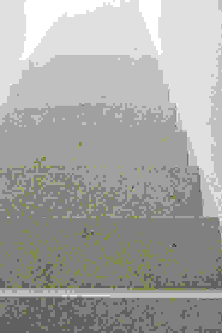 MIYAHARA-U オリジナルスタイルの 玄関&廊下&階段 の 建築設計事務所 可児公一植美雪/KANIUE ARCHITECTS オリジナル 石
