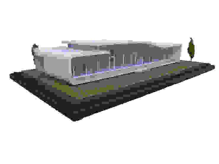 DJ-HOUSE オリジナルな 家 の SPACE101建築事務所 オリジナル