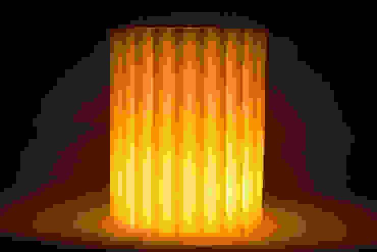 Ondüle Fener / Lantern Tay Mum Klasik