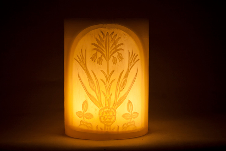 Buket Fener / Bouquet Design Lantern Tay Mum Klasik