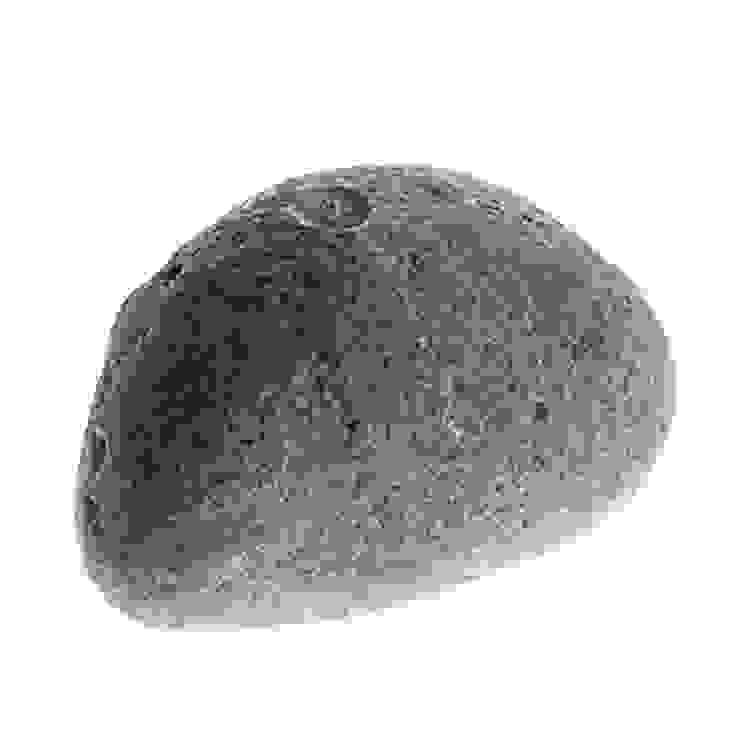 Tay Mum – Çakıltaşı mum - büyük / Pebble stone candle - big: modern tarz , Modern