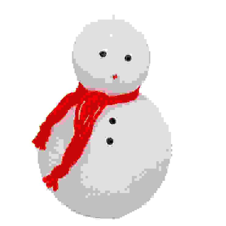 Tay Mum – Kardanadam Mum - orta / Snowman candle - medium: modern tarz , Modern