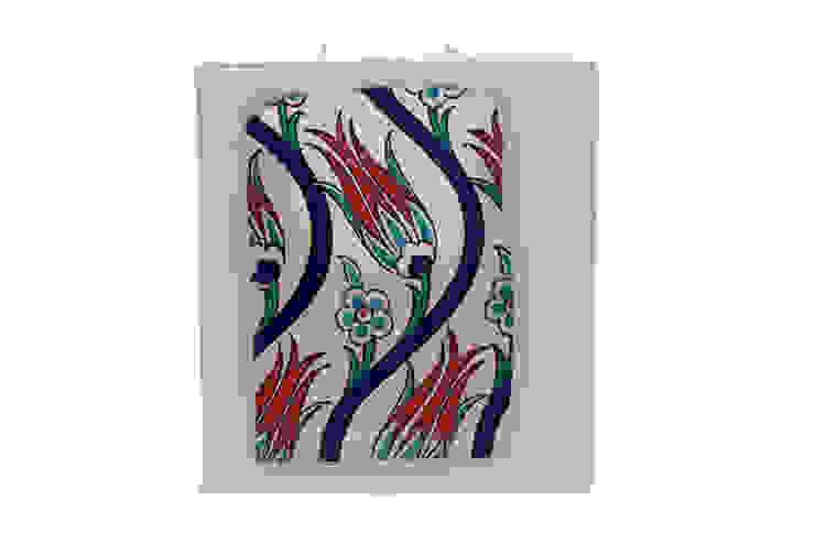 Çinili Mum / Tile design candle Tay Mum Klasik
