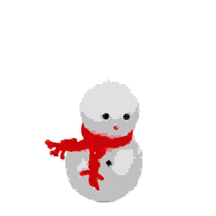 Tay Mum – Kardanadam Mum - küçük / Snowman candle - small: modern tarz , Modern