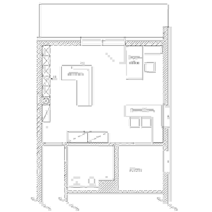 modern wohnen mit einem Hauch von Skandinavien von Innenarchitektur-Moll