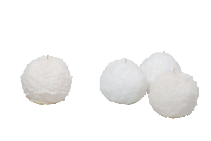 Tay Mum – Kartopu Mumlar / Snowflake candles: modern tarz , Modern