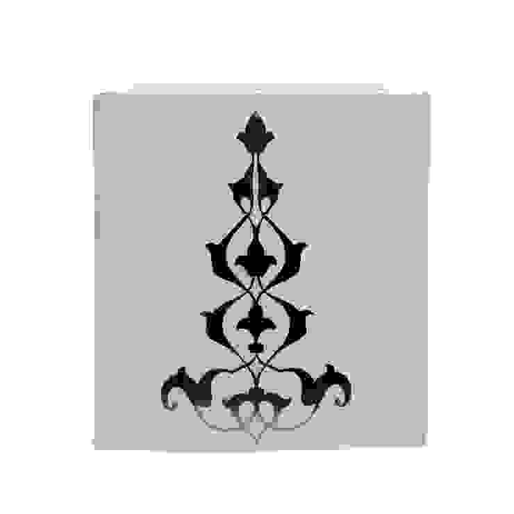 Metalli Fener / Ottoman Metallic Design Lantern Tay Mum Klasik