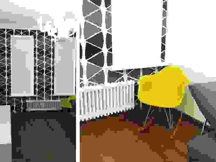 Интерьер квартиры на ул. Кирочная, Санкт-Петербург от Архитектурное бюро Борщ Эклектичный