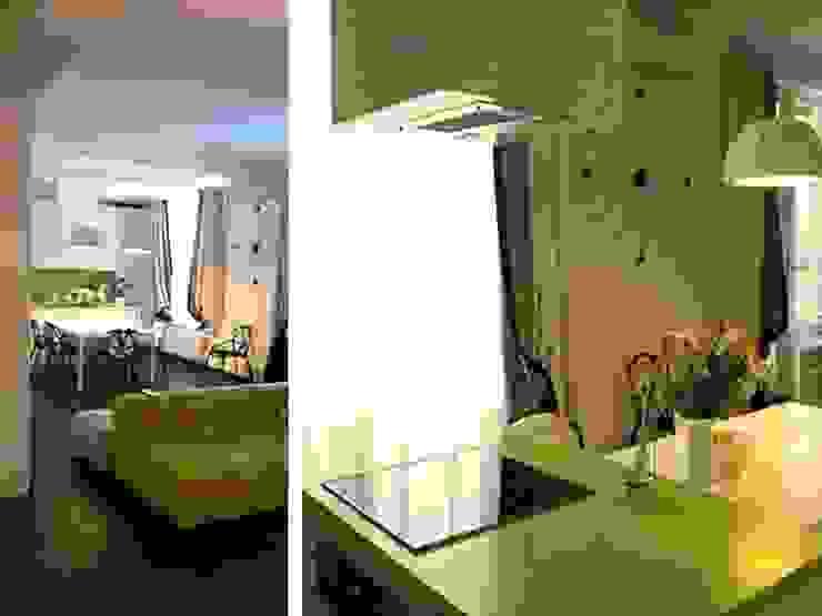 Интерьер квартиры на ул. Кирочная, Санкт-Петербург Кухни в эклектичном стиле от Архитектурное бюро Борщ Эклектичный