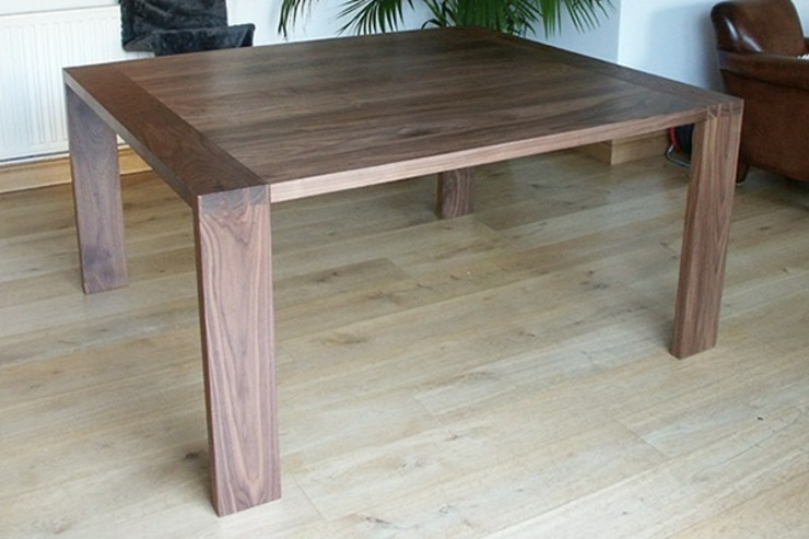 Dining Table in Solid American Black Walnut: modern  by Future Antiques, Modern