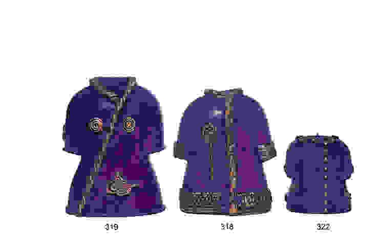 Kaftan Mumlar / Ottoman Caftan Design Candles Tay Mum Klasik