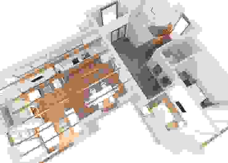Модерн под Райта в Белоострове от АРХ студия Антона Никитина