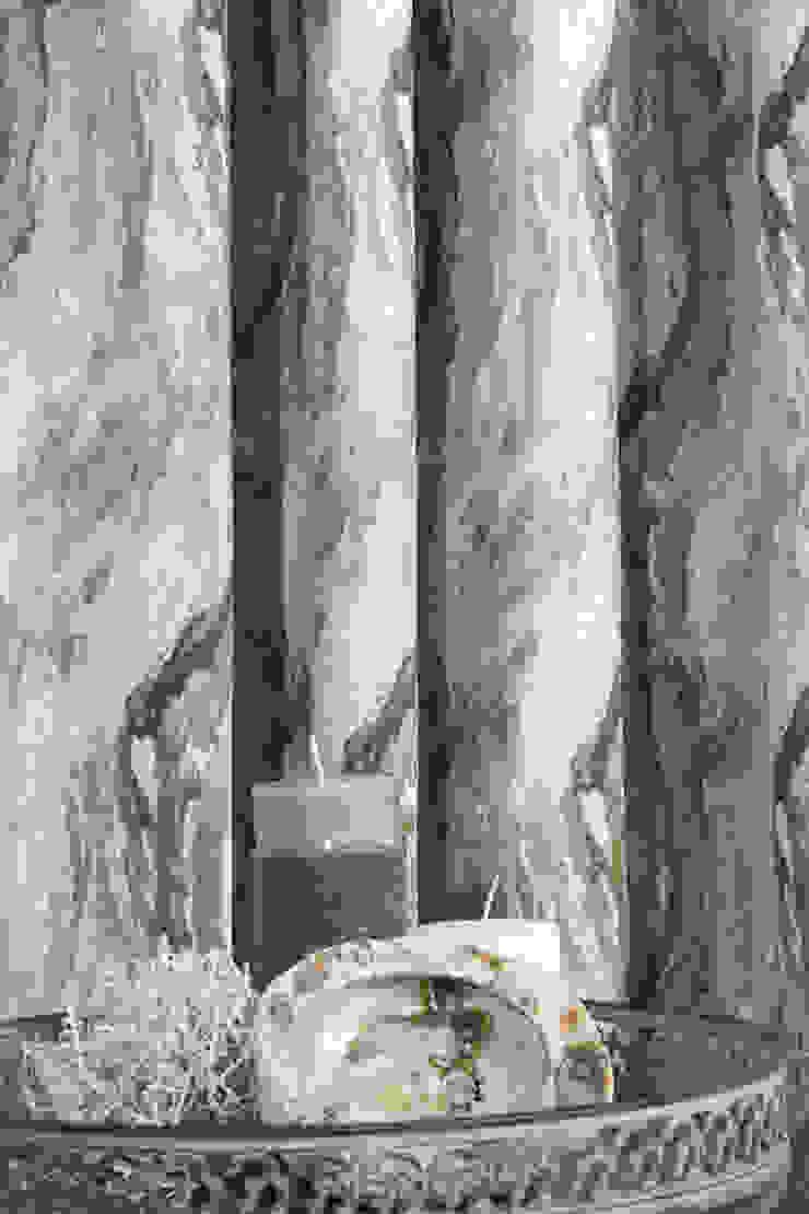 Indes Stoff Painting 4256-31 ice Indes Fuggerhaus Textil GmbH Fenster & TürGardinen und Vorhänge